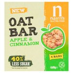 Nairns Gluten Free Apple and Cinnamon Oat Bars 160g