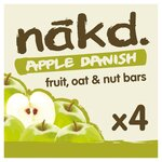 Nakd Apple Danish Bar 4 Pack