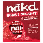 Nakd Berry Delight 4 Pack