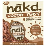 Nakd Cocoa Twist 4 Pack
