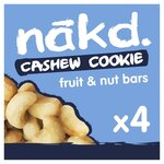 Nakd Free From Cashew Cookie Multipack 4 x 35g