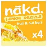 Nakd Lemon Drizzle 4 Pack