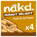 Nakd Peanut Delight 4 Pack