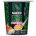 Naked Rice Free From Katsu Curry 78g