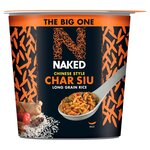Naked Rice The Big One Chinese Char Siu 104g