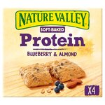 Nature Valley Protein Soft Bakes Almond & Blueberry 4 x 38g