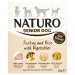Naturo Senior Dog Turkey Rice And Vegetable 400G
