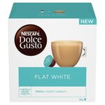 Nescafe Dolce Gusto Flat White Coffee Pods 16 per pack