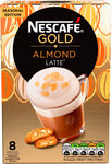 Nescafe Gold Almond Latte 8 Sachets Limited Edition