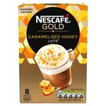 Nescafe Gold Caramelised Honey Latte 8 Sachets
