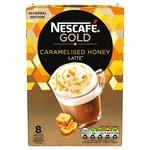 Nescafe Gold Caramelised Honey Latte 8 Sachets