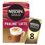 Nescafe Gold Praline Latte 8 Sachets