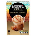 Nescafe Gold Salted Caramel Mocha 8 Sachets Limited Edition