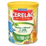 Nestle Cerelac Honey And Wheat Baby Food 12 Months 400G