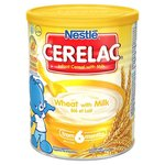 Nestle Cerelac Infant Cereal Wheat with Milk 6 Months 400g