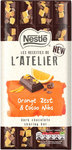 Nestle Les Recettes de l'Atelier Dark Chocolate Orange Zest and Cacao Nibs 195g