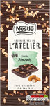Nestle Les Recettes de l'Atelier Dark Chocolate Roasted Almonds 115g