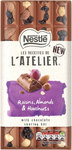 Nestle Les Recettes de l'Atelier Milk Chocolate Raisins Almonds and Hazelnuts 195g