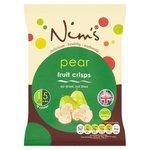 Nims Air Dried Pear Crisps 22G