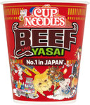 Nissin Cup Noodles Beef Yasai 71g