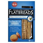 No-No Low Fat Sesame Seed Wheat and Corn Flatbreads 125g