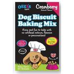 Oggis Oven Dog Biscuit Baking Mix Cranberry Dog Treat 150g