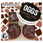 Oggs Vegan Chocolate Fudge Cakes 4 x 46g