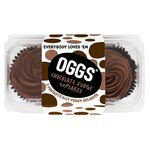 OGGS Vegan Chocolate Fudge Cupcakes 2 x 63g
