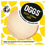 Oggs Vegan Zesty Lemon Cake 386g