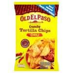 Old El Paso Chilli Tortilla Chips 185g