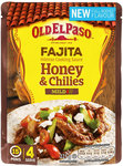 Old El Paso Intense Fajita Cooking Sauce with Honey and Chilies 225g