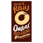 Ombar 100% Cacao Dark Vegan Chocolate 35g