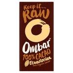 Ombar 100% Cacao Dark Vegan Chocolate 35g