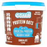 OOMF! Protein Oats Chocolate Flavour No Added Sugar 75g
