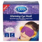 Optrex Warming Lavender Eye Mask 8 per pack