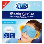 Optrex Warming Natural Eye Mask 2 per pack