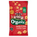 Organix 12 Month Tomato and Herb Gruffalo Claws 4X15g