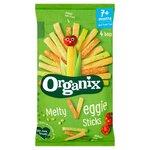 Organix 7 Month Melty Veggie Sticks 4 x 15g