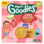 Organix Goodies Jammie Monster Biscuits 8 Pack
