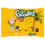 Organix Goodies Organic Banana and Cocoa Fruit and Seed Bites 20g