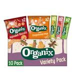 Organix Toddler Snack Box Variety Pack 254g