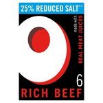 Oxo Rich Beef Reduced Salt Stock Cubes 35g