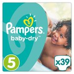 Pampers Baby Dry Size 5 x39