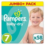 Pampers Baby Dry Size 7 x 58