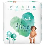 Pampers Pure Protection Nappies Size 5 x 24