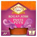 Pataks Rogan Josh Curry Paste Pot 2 x 70g