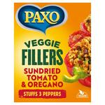 Paxo Veggie Fillers Sundried Tomato and Oregano 120g