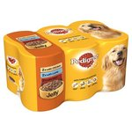 Pedigree Chicken Lamb and Beef Variety Pack In Jelly 6 x 385g