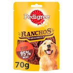 Pedigree Ranchos Dog Treat Original Beef 70g