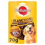 Pedigree Ranchos Dog Treat Original Chicken 70g